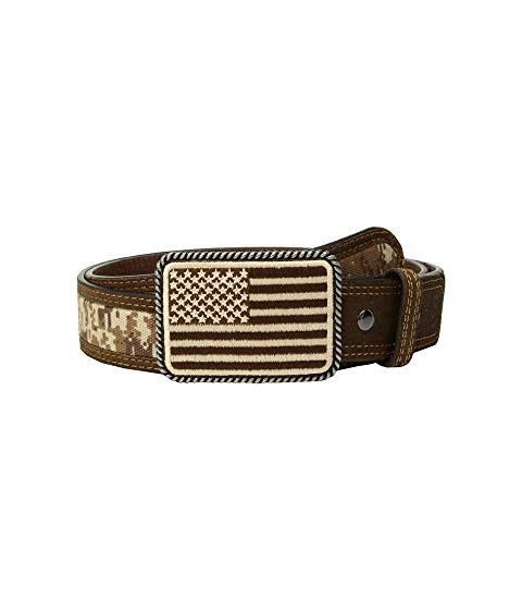7981776e813ae Ariat® Sport Patriot with USA Flag Buckle Belt - South 40 Western Wear