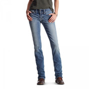 Ariat Women's REAL Straight Leg Icon Jean