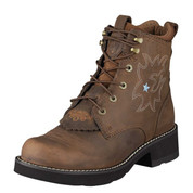 Ariat Womens Driftwood Brown Probaby Lacer Boots