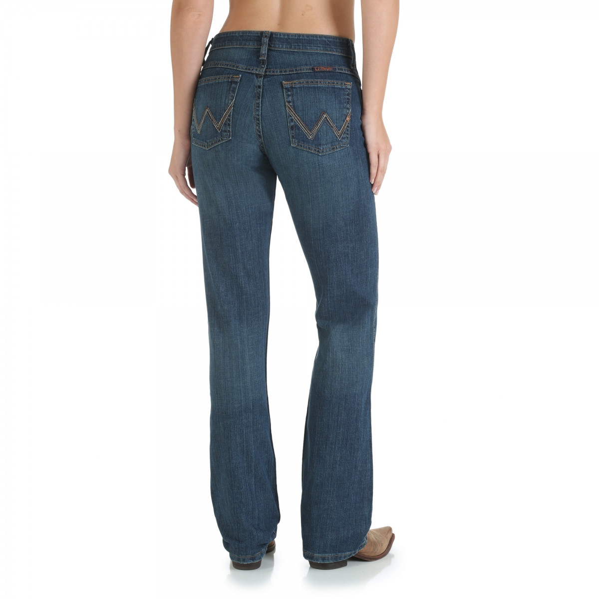 9a29b001 ... Wrangler Womens QBaby Tuff Buck Ultimate Riding Western Jean. Hover  over image to zoom. WRQ20TB back