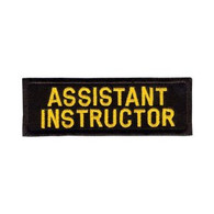 Assistant Instructor Rectangular Patch