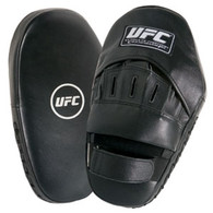 This is the ultimate training target for martial arts. The punch mitt is ideal for practicing punches, straight-on jabs, hooks, and uppercuts. The unique contoured shape creates superb target control and can be worn on either hand. It includes high-density, molded-foam padding to provide solid shock absorption. Sold in pairs.
