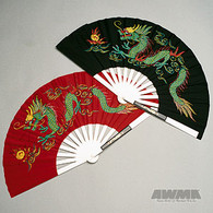 Metal Dragon Fighting Fans