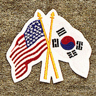 American/Korean Patch