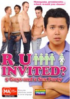 R U Invited? : 5 Guys and a Sex Party DVD
