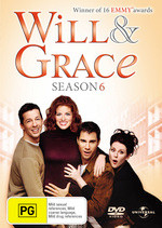 Will & Grace (Season 6) DVD