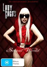 Lady Gaga's Secret World DVD