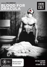 Blood for Dracula DVD (Cinema Cult series)
