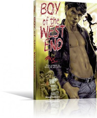 Boy of the West End (Zack's Boys Series Book 5)(Erotic Novel with Illustrations)