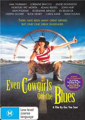 Even Cowgirls Get the Blues DVD