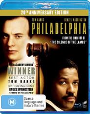 Philadelphia (20th Anniversary Edition) Blu-Ray