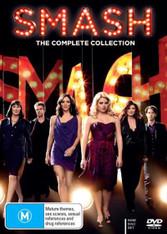 Smash Season 1 + 2 The Complete Collection DVD