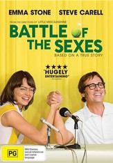 Battle of the Sexes DVD (The 2017 Movie)
