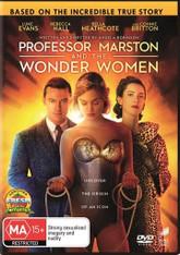 Professor Marston and the Wonder Women DVD