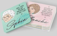 The Golden Girls Drink Coasters: 8 Cork Coasters