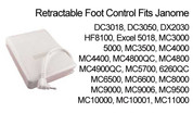Buy your Genuine Janome Retractable Single Pin Foot Control Pedal to suit Computer Models at Bargain Box