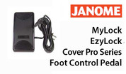 Buy your Genuine Janome MyLock EzyLock Cover Pro Series Foot Control Pedal online at Bargain Box