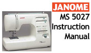 Buy your Janome New Home MS 5027 Sewing, Machine, User, Instruction, Manual, Handbook, Download Online at Bargain Box