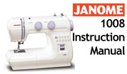 Buy your Janome New Home 1008 Sewing, Machine, User, Instruction, Manual, Handbook, Download Online at Bargain Box
