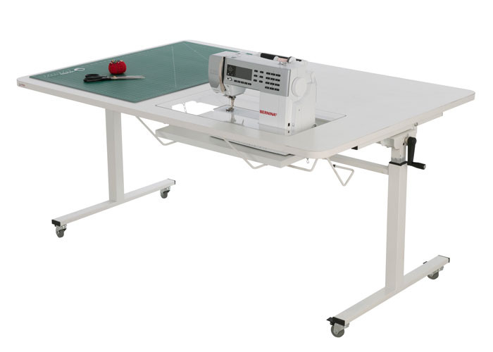 Buy Your Horn Height Adjustable Sewing AND Cutting Table Online At Delectable Sewing Machine Tables Australia