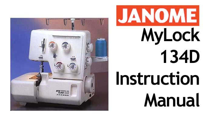 Buy Your Janome New Home Mylock Ml 134 D Overlocker Serger