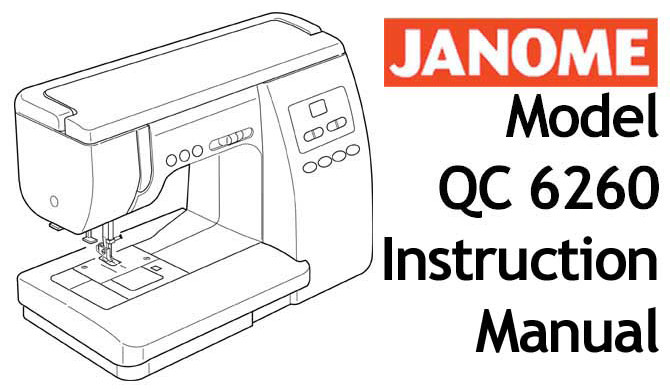 Buy Your Janome New Home QC 40 Sewing Machine User Instruction Mesmerizing Sewing Machine Manuals Online