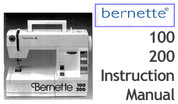Buy your Bernette Models 100 & 200 Sewing, Machine, User, Instruction, Manual, Handbook, Download Online at Bargain Box