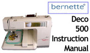 Buy your Bernette Model Deco 500 Sewing, Machine, User, Instruction, Manual, Handbook, Download Online at Bargain Box