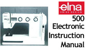 Buy your Elna Elna 500 Electronic Sewing, Machine, User, Instruction, Manual, Handbook, Download Online at Bargain Box