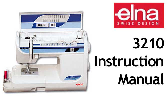 Buy Your Elna 40 40 Sewing Machine User Instruction Manual Adorable Elna Super Sewing Machine Manual