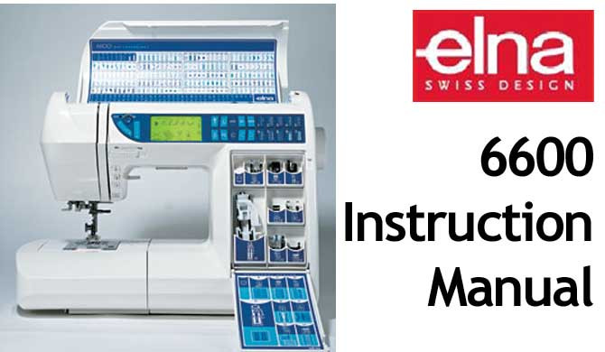 This pdf file is the original Elna 40 Sewing Machine Users Beauteous Elna Special Sewing Machine Manual