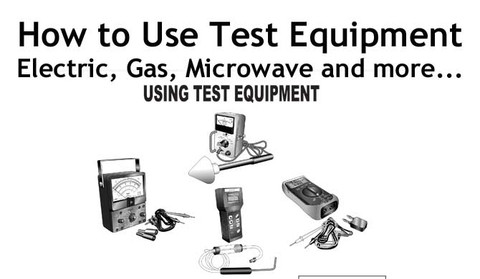 Buy your How to use Test Equipment Service Manual Online