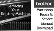 Buy your Brother Knitting Machine Models KH, KL, KR Machine Workshop Repair Service Instruction Manual Download, Handbook, Online at Bargain Box