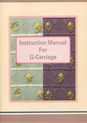 Brother KG95 Knitting Machine User Manual for Garter Carriage Download