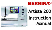 Buy your Bernina Artista 200 Sewing, Machine, User, Instruction, Manual, Handbook, Download Online at Bargain Box