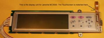 Buy your Janome Memory Craft MC5000 Replacement LCD Touchscreen, Online at Bargain Box