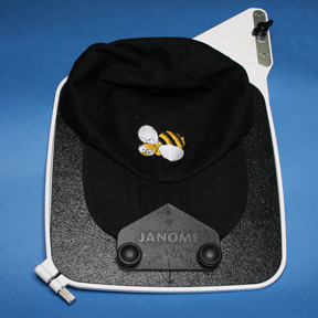 Buy your Janome Baseball Hat Hoop Insert (Suits MC11000, 10001, 10000, 9700, 9500, 350E, 300E) at Bargain Box