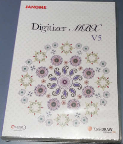 Janome Artistic Digitizer is the latest Full Digitising Software from Janome it has replaced Digitizer MBX v5, which is no longer available.