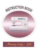 Buy your Janome New Home Memory Craft MC 5700 Sewing, Machine, User, Instruction, Manual, Handbook, Download Online at Bargain Box