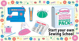 Fantastic Small Business Opportunity  On your Own, or with Family & Friends... YOU decide !  THE PERFECT FAMILY BUSINESS DOUBLE ACT  Sewing School AND Repair Business  START YOUR OWN Sewing School PLUS a Sewing Machine Repair Business !
