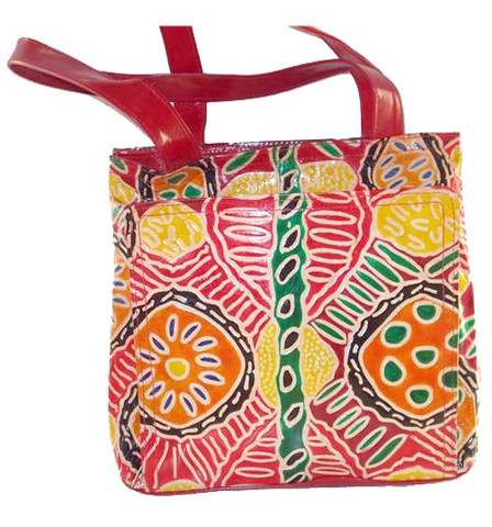 Buy your Leather Busy Bag Keringke Multi Colour by Bridgette Wallace at Bargain Box