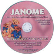 1,835 of your favourite MC8000 and MC9000 .sew Card designs are now available in the new .jef format, all on this one CD. Take a look at all these beautiful Janome Embroidery Designs, there are 88 collections of Groups and Series on this one CD for this one low price.