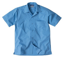 Midford Boys School Shirt Short Sleeve Open Neck - 7 colours available