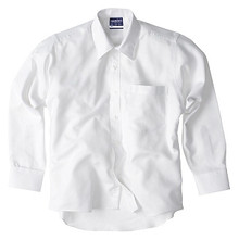 Midford Boys White Classic School Shirt Long Sleeve Shirt 1006C