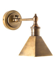 Mayfair Antique Brass Wall Lamp