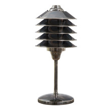 Melrose Antique Silver Table Lamp