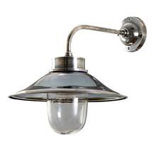 Sandhurst Antique Silver Wall Lamp