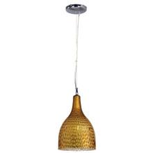 Hammered Drop Gold Pendant Light