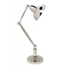 Redman Silver Nickel Desk Lamp