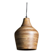 Bistro Wooden Pendant Light